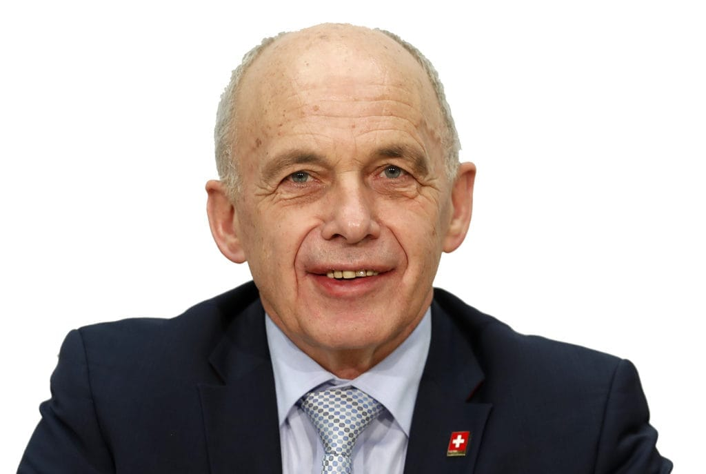 Interview mit Bundesrat Ueli Maurer